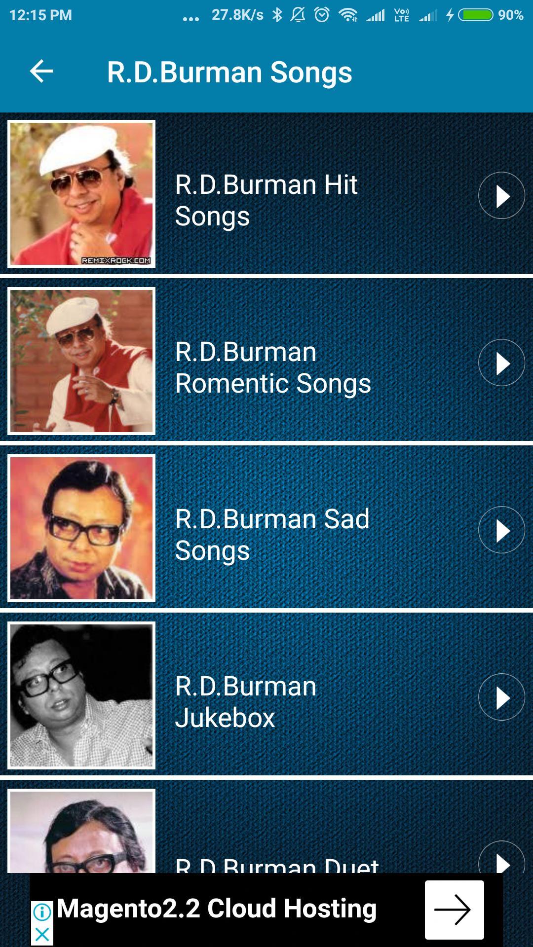 rd burman remix songs download
