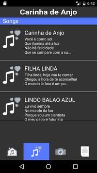 Carinha De Anjo music screenshot 4
