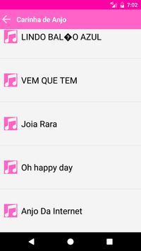 Carinha De Anjo music screenshot 9