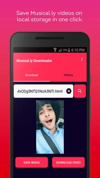 Video downloader for musical.ly screenshot 2