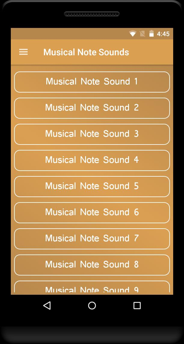 Musical Note Sounds for Android - APK Download