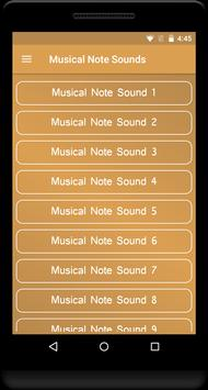 Musical Note Sounds poster