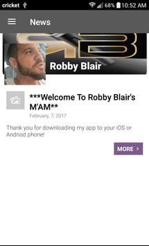 Robby Blair poster