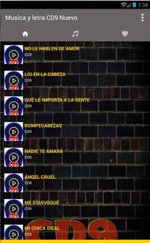 CD9 Música e Letras Nuevo screenshot 1