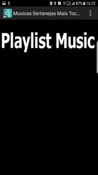 TOP 100 Musicas Sertanejas Mais Tocadas Antigas apk screenshot