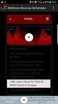 Melhores MUsicas Sertanejas de Todos os Tempos apk screenshot