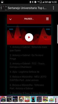 Sertanejo Universitario 2018 Top Lancamentos screenshot 3