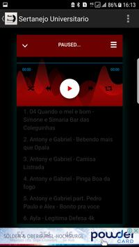 TOP 200 Sertanejo - As Mais Tocadas  das Melhores screenshot 1