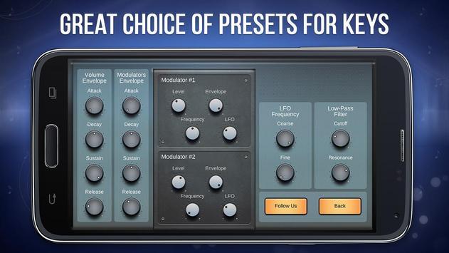 FM Synthesizer apk screenshot