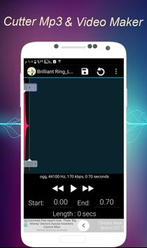 Cutter Mp3 & Video Maker screenshot 3