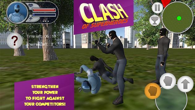 Clash of Superheroes screenshot 2