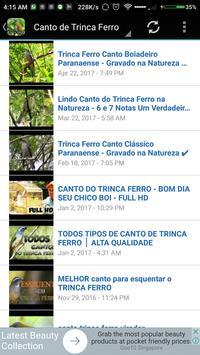 CANTO DE TRINCA FERRO screenshot 2