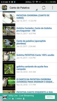 Canto de Patativa screenshot 3