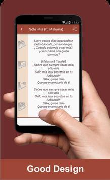 Yandel - Sólo Mía ft. Maluma Musica apk screenshot