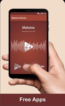 Maluma Musica poster