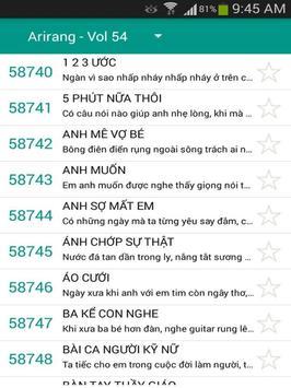 V-Kara: Mã số Karaoke Việt Nam screenshot 5