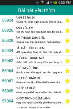 V-Kara: Mã số Karaoke Việt Nam screenshot 3