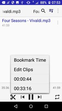 Clip Media Player and Editor apk screenshot