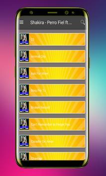 Shakira - Perro Fiel ft. Nicky Jam Songs Lyrics screenshot 2