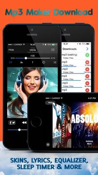 Music downloader without WiFi poster