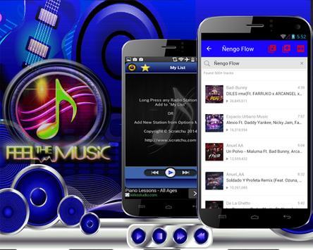Ñengo Flow ft. Bad Bunny - Hoy. Musica y Letras apk screenshot