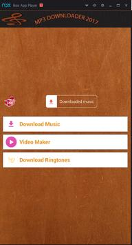 mp3 downloader 2017 poster