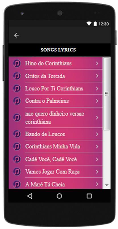... Corinthians músicas e letras b0854c36dd530