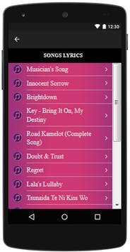 D.Gray-Man songs and lyrics, Hits. screenshot 2