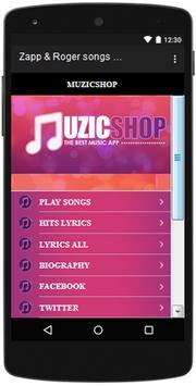 Zapp & Roger  songs and lyrics, Hits. screenshot 1