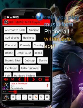 HOT MUSIC MP3 Player screenshot 1