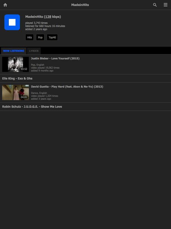 Translator Italian: MusicPlayOn For Android
