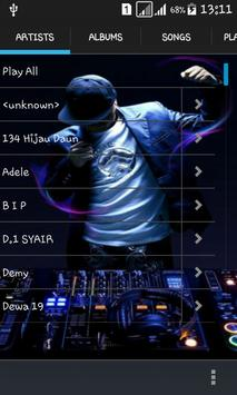 Blackplayer music mp3 player poster