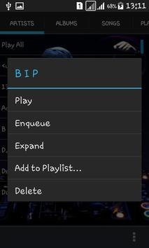 Blackplayer music mp3 player screenshot 1