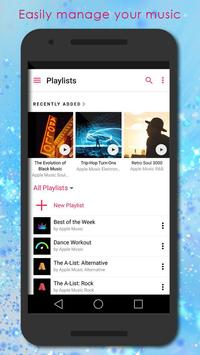 Music Player style OS New apk screenshot