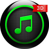 3D Music Player icon