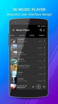3D Music Player screenshot 1