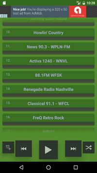Nashville Internet Radio Free apk screenshot
