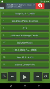San Diego Internet Radio Free apk screenshot