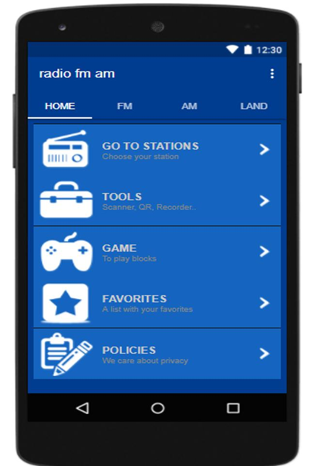 radio fm free without internet radio stations for Android
