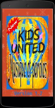 Musique Kids united France poster