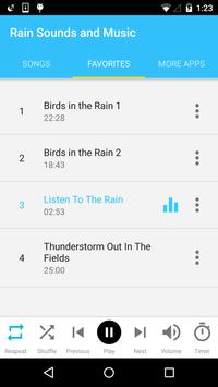Rain Sounds and Music screenshot 3