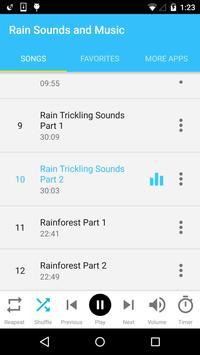 Rain Sounds and Music screenshot 1
