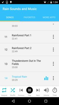 Rain Sounds and Music screenshot 2