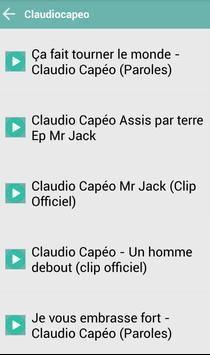 CLAUDIOCAPEO MUSICA apk screenshot