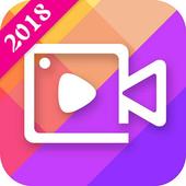 Magic Video Editor Cut Music & Square Pic Collage icon
