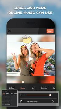 Magic Video Editor Cut Music & Square Pic Collage apk screenshot