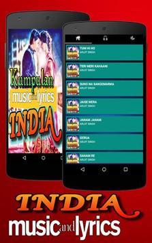 Lagu India poster