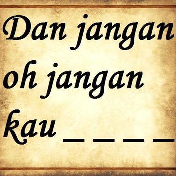 Jangan Oh Jangan - Siti Liza apk screenshot