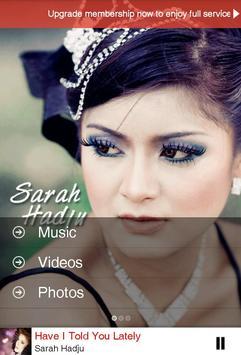 Sarah Hadju Official poster