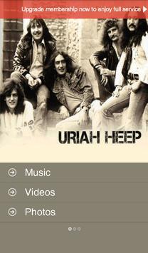 Uriah Heep Official screenshot 1
